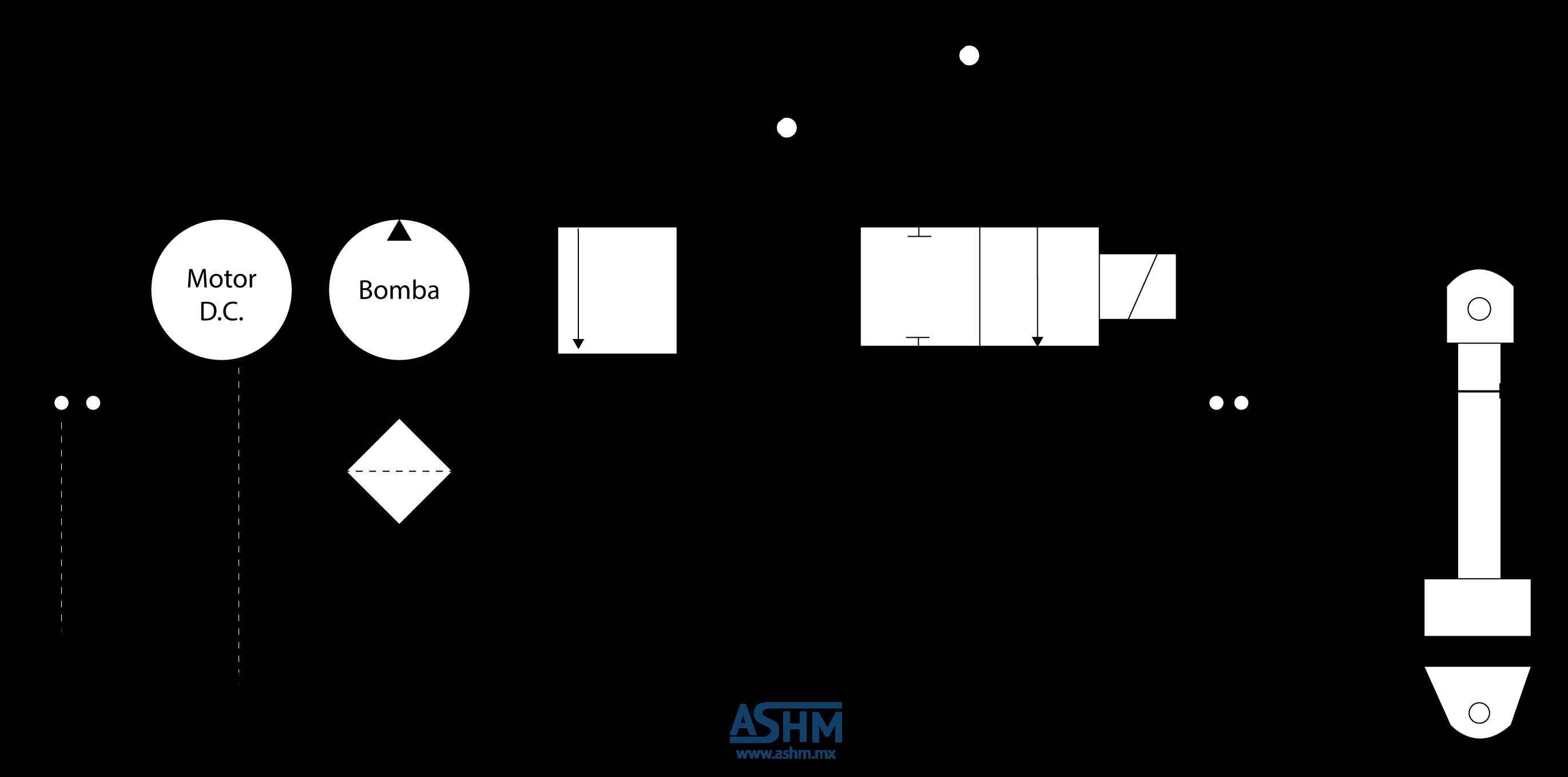 Circuito Hidraulico Basico : Simbologia sistema hidraulico basico mantenimiento de