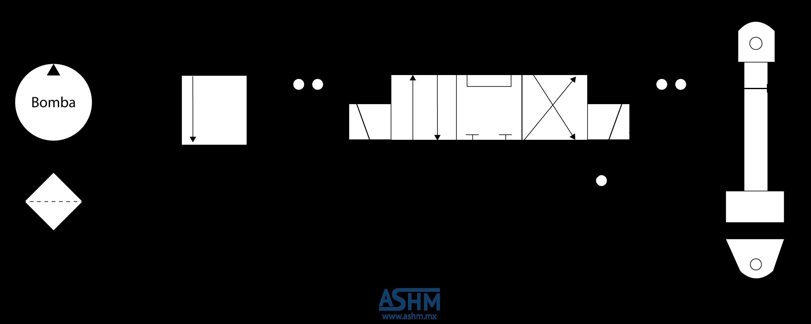 Circuito Hidraulico Basico : Diagrama sistema hidraulico basico hidráulico